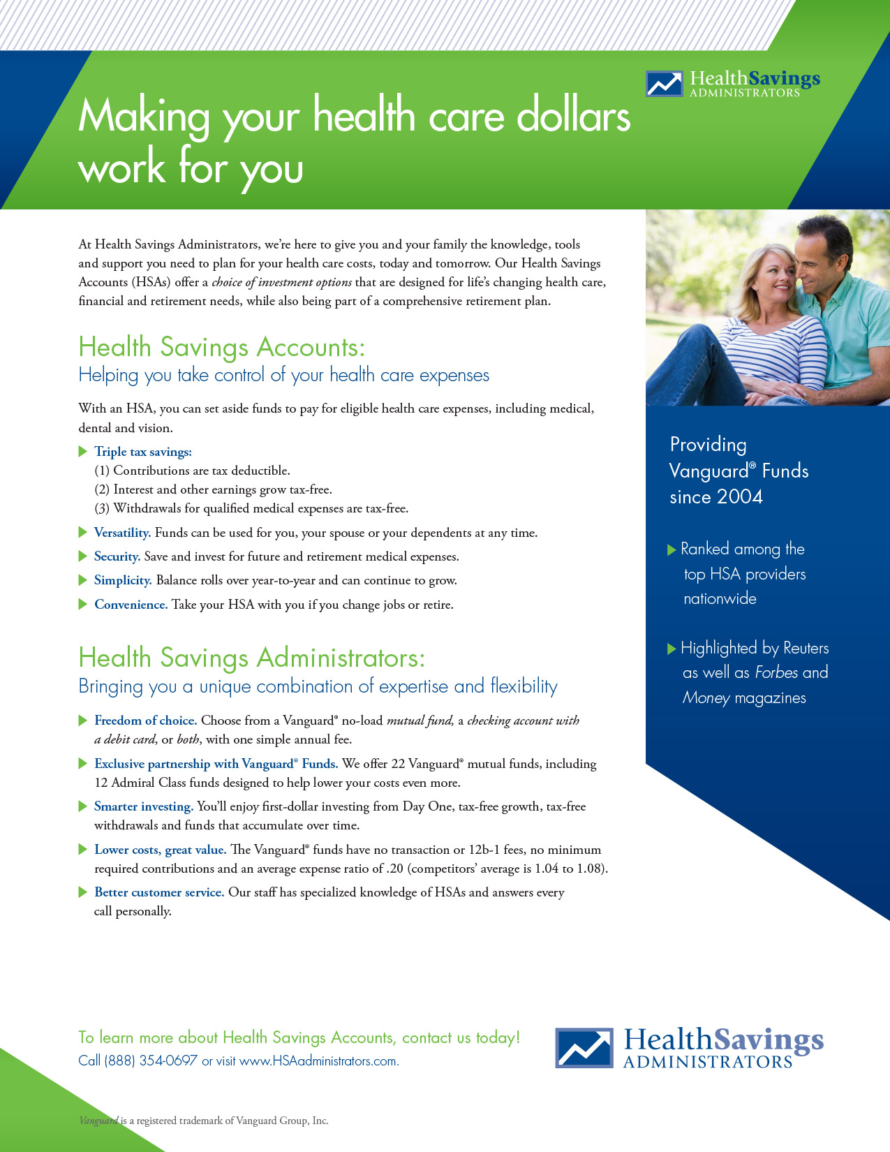 Health Savings Administrators Print Ad 1