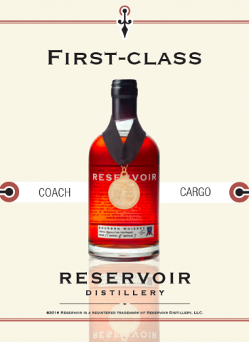 Reservoir Distillery Shelf Talker