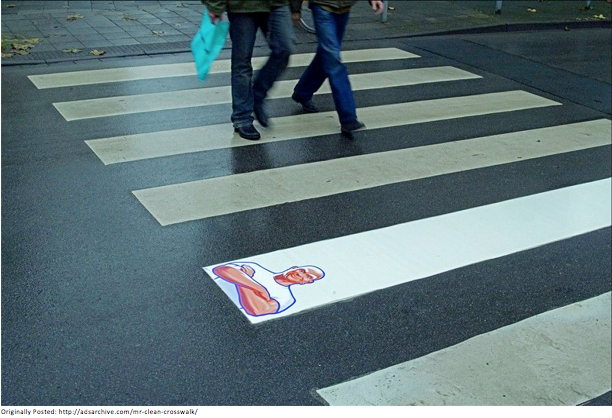 outdoor advertising - mr clean