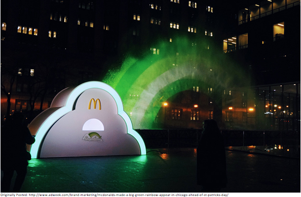 outdoor advertising - mcdonalds