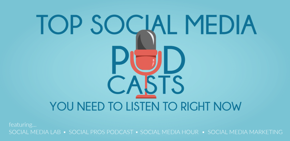 social media podcasts list